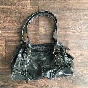 Authentic Fossil leather handbag